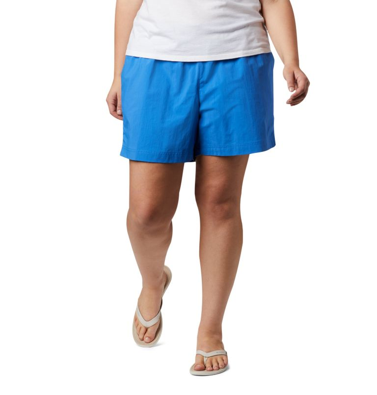 W Backcast™ Water Short   426   2X Women's PFG Backcast™ Water Shorts - Plus Size, Stormy Blue, front
