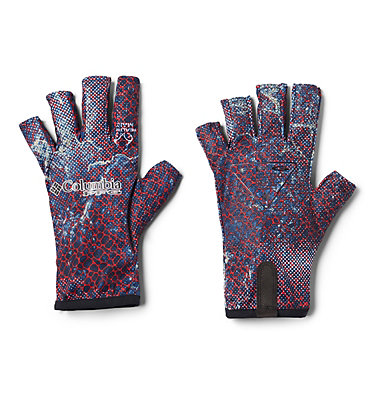 PFG Terminal Tackle™ Fishing Gloves Terminal Tackle™ Fishing Glove | 488 | L/XL, Carbon Real Tree Mako Camo, front