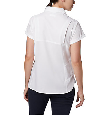 Women's Silver Ridge™ Lite Short Sleeve Shirt Silver Ridge™ Lite Short Sleeve | 010 | L, White, back