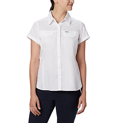 Women's Silver Ridge™ Lite Short Sleeve Shirt Silver Ridge™ Lite Short Sleeve | 010 | L, White, front