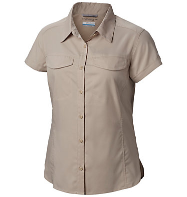 Women's Silver Ridge™ Lite Short Sleeve Shirt Silver Ridge™ Lite Short Sleeve | 010 | L, Fossil, front