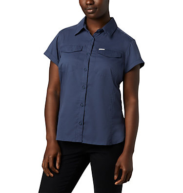 Women's Silver Ridge™ Lite Short Sleeve Shirt Silver Ridge™ Lite Short Sleeve | 010 | L, Nocturnal, front