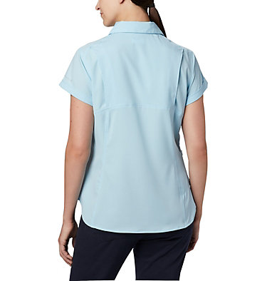 Women's Silver Ridge™ Lite Short Sleeve Shirt Silver Ridge™ Lite Short Sleeve | 010 | L, Spring Blue, back