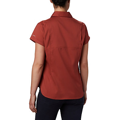 Women's Silver Ridge™ Lite Short Sleeve Silver Ridge™ Lite Short Sleeve | 638 | M, Dusty Crimson, back