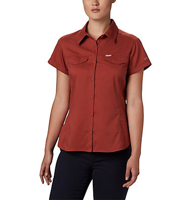 Women's Silver Ridge™ Lite Short Sleeve Silver Ridge™ Lite Short Sleeve | 638 | M, Dusty Crimson, front