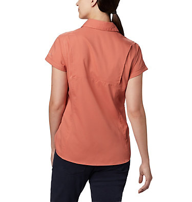 Women's Silver Ridge™ Lite Short Sleeve Shirt Silver Ridge™ Lite Short Sleeve | 010 | L, Dark Coral, back