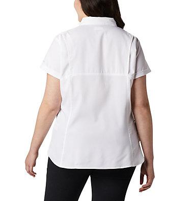Chemise à manches courtes Silver Ridge™ Lite pour femme — Grandes tailles Silver Ridge™ Lite Short Sleeve | 490 | 1X, White, back