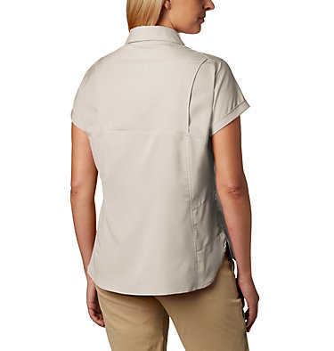 Women's Silver Ridge™ Lite Short Sleeve - Plus Size Silver Ridge™ Lite Short Sleeve | 490 | 1X, Fossil, back
