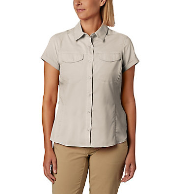 Women's Silver Ridge™ Lite Short Sleeve - Plus Size Silver Ridge™ Lite Short Sleeve | 490 | 1X, Fossil, front