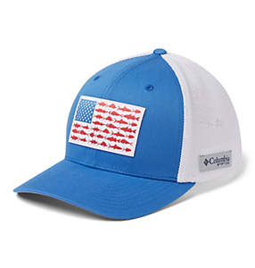PFG Mesh Fish Flag Ball Cap