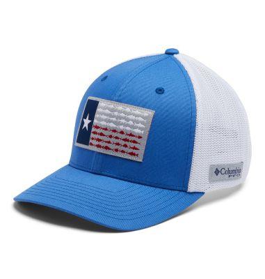 PFG Mesh Fish Flag Ball Cap -Texas | Columbia Sportswear