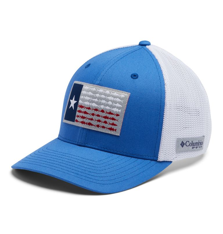 PFG Mesh Fish Flag Ball Cap -Texas PFG Mesh Fish Flag Ball Cap -Texas, front