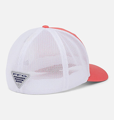 PFG Mesh™ Hooks Ball Cap PFG Mesh™ Hooks Ball Cap | 499 | L/XL, Salmon, Silver, back