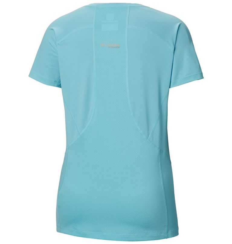 Titan Trail™ Lite Short Sleeve | 459 | S Women's Titan Trail™ Lite Short Sleeve Shirt, Clear Blue, back