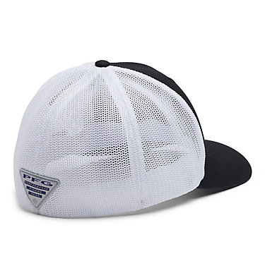 PFG Mesh™ Seasonal Ball Cap PFG Mesh™ Seasonal Ball Cap | 012 | S/M, Black, White, back