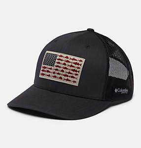 PFG Mesh Snap Back™ Fish Flag Ballcap