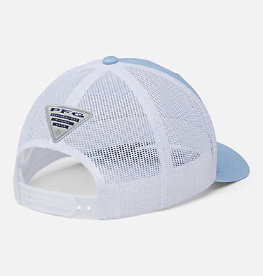 PFG Mesh Snap Back™ Fish Flag Ballcap PFG Mesh Snap Back™ Fish Flag Ball Cap | 372 | O/S, Sail, White, Fish Flag, back