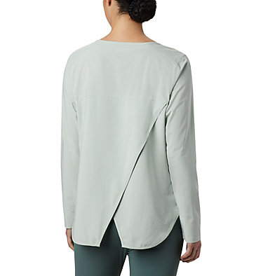 Women's Place To Place™ Sun Shirt Place To Place™ Sun Shirt | 466 | M, Cool Green, back