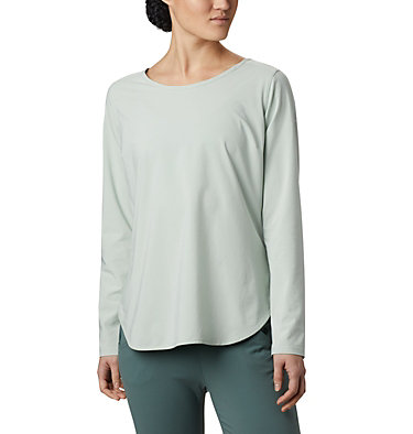 Women's Place To Place™ Sun Shirt Place To Place™ Sun Shirt | 466 | M, Cool Green, front