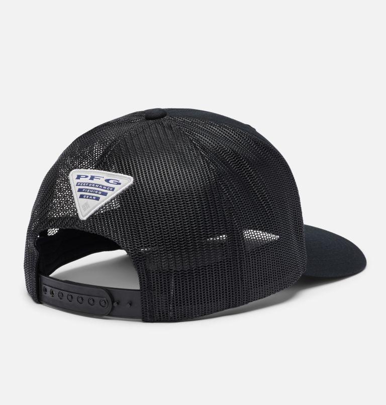 PFG Mesh Snap Back™  Hooks Ball Cap | 014 | O/S PFG Mesh Snap Back™ Hooks Ball Cap, Black, PFG Hook, back