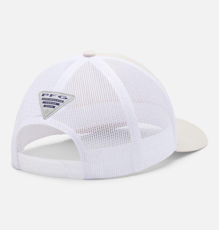 PFG Mesh Snap Back™  Hooks Ball Cap   022   O/S PFG Mesh Snap Back™ Hooks Ball Cap, Stone, Petrol Blue, PFG, back