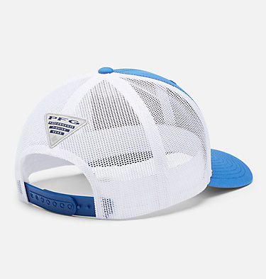 PFG Mesh Snap Back™ Hooks Ball Cap PFG Mesh Snap Back™  Hooks Ball Cap | 487 | O/S, Vivid Blue, Rose Gold PFG, back
