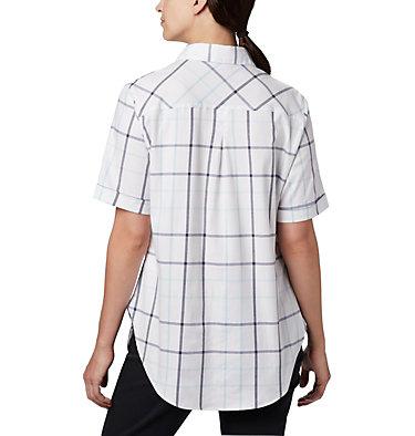 Women's Anytime Casual™ Stretch Short Sleeve Shirt Anytime Casual™ Stretch SS Shirt   490   L, Spring Blue Multi Windowpane, back