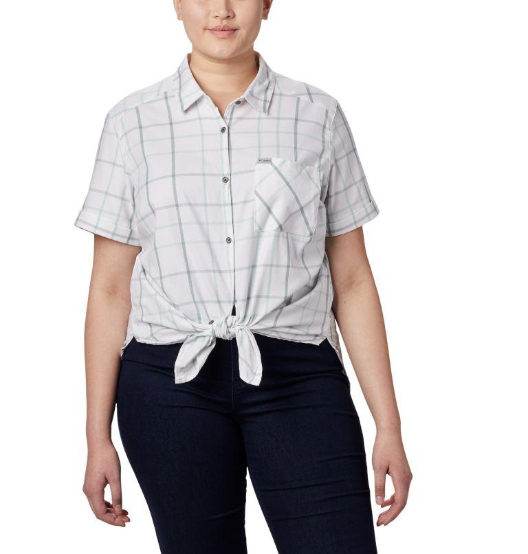 Chemise à manches courtes extensible Anytime Casual™ pour femme — Grandes tailles Chemise à manches courtes extensible Anytime Casual™ pour femme — Grandes tailles, a3