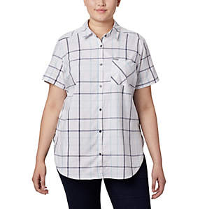 Women's Anytime Casual™ Stretch Short Sleeve Shirt - Plus Size
