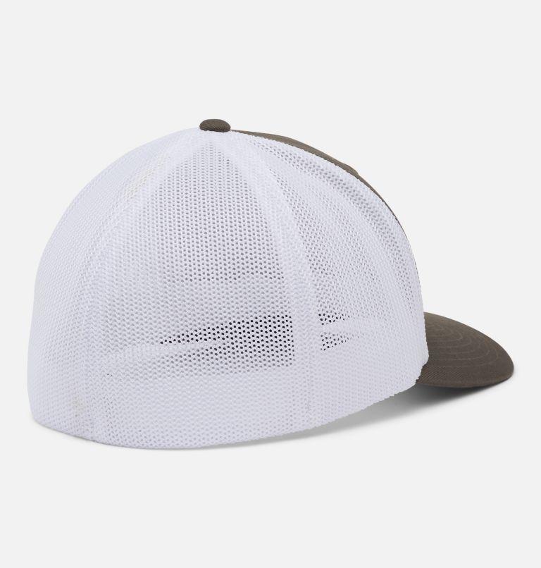 Columbia Mesh™ Tree Flag Ball Cap | 320 | S/M Columbia Mesh™ Tree Flag Ball Cap, Olive Green, White, back