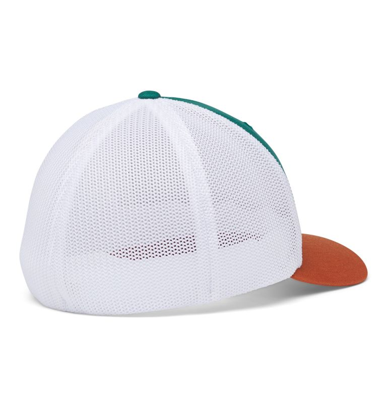 Columbia Mesh™ Tree Flag Ball Cap | 363 | S/M Columbia Mesh™ Tree Flag Ball Cap, Pine Green, back