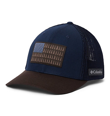 Columbia Mesh™ Tree Flag Ball Cap Columbia Mesh™ Tree Flag Ball Cap | 028 | S/M, Collegiate Navy, Buffalo, front