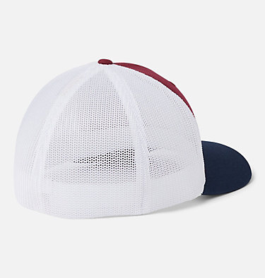 Columbia Mesh™ Tree Flag Ball Cap Columbia Mesh™ Tree Flag Ball Cap | 028 | S/M, Red Jasper, White, Collegiate Navy, back