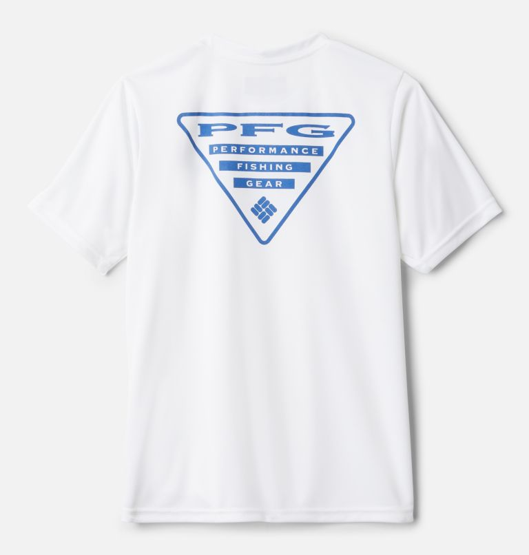 Boys' PFG™Offshore Short Sleeve Shirt Boys' PFG™Offshore Short Sleeve Shirt, front