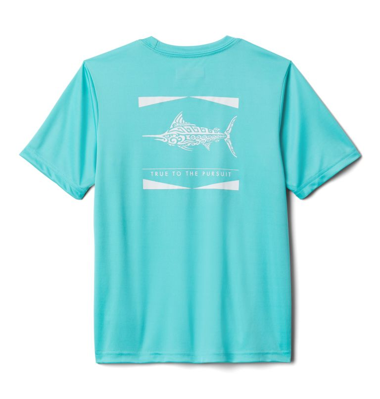 Boys' PFG™ Offshore Short Sleeve Shirt Boys' PFG™Offshore Short Sleeve Shirt, front