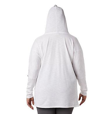 Women's Longer Days™ Hoodie - Plus Size Longer Days™ Hoodie | 100 | 1X, White, back