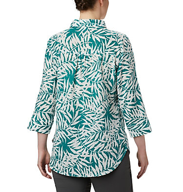 Tunique à enfiler Summer Ease™ pour femme Summer Ease™ Popover Tunic | 340 | M, Waterfall Wispy Bamboo Print, back