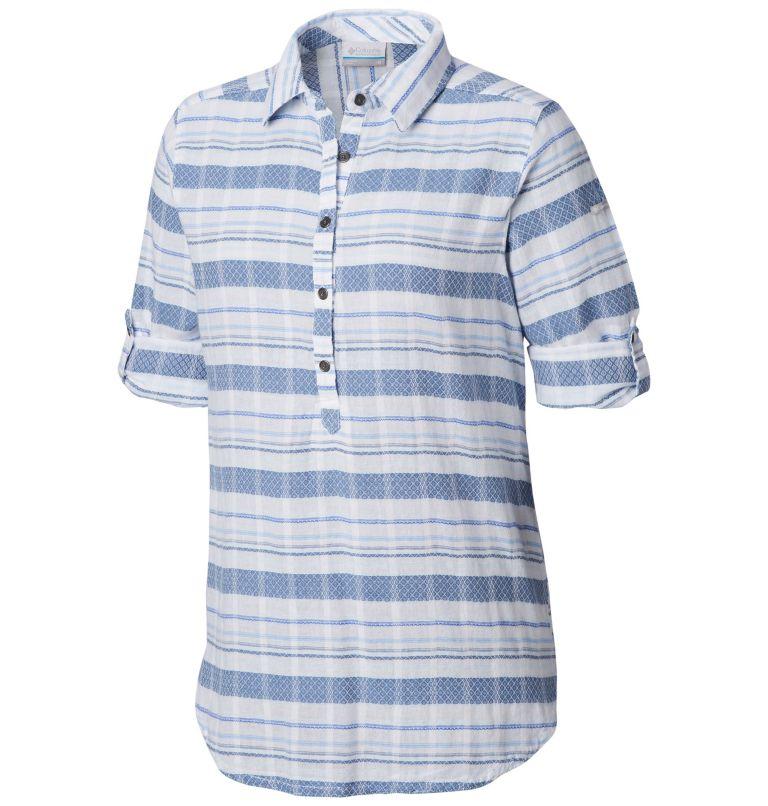 Summer Ease™ Popover Tunic | 456 | XS Tunique à Enfiler Summer Ease™ Femme, Blue Dusk Stripe, a1