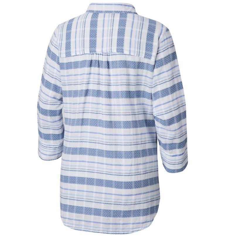Summer Ease™ Popover Tunic | 456 | XS Tunique à Enfiler Summer Ease™ Femme, Blue Dusk Stripe, back