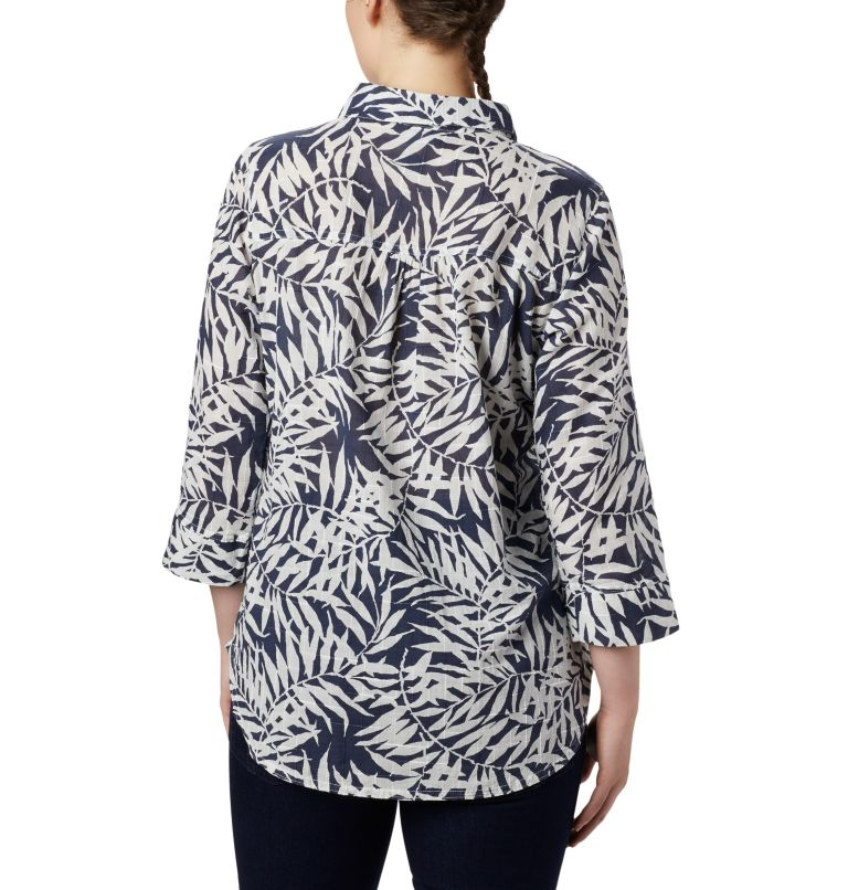 Summer Ease™ Popover Tunic | 467 | XS Tunique à Enfiler Summer Ease™ Femme, Nocturnal Wispy Bamboo Print, back