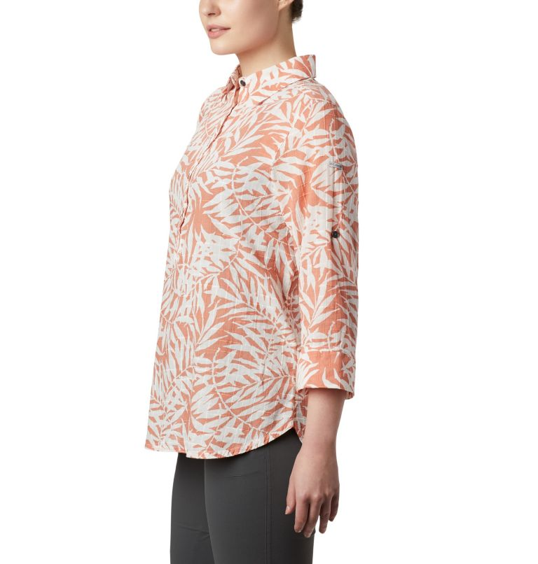 Summer Ease™ Popover Tunic | 648 | L Women's Summer Ease™ Popover Tunic, Cedar Blush Wispy Bamboo Print, a3