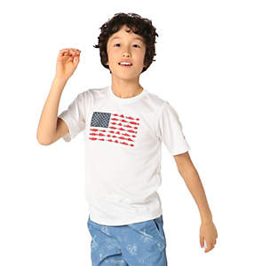Boys' PFG Finatic™ Short Sleeve Shirt