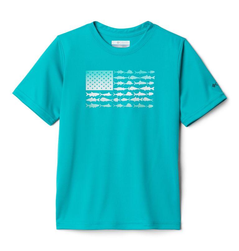 Boys' PFGFinatic™ Short Sleeve Shirt Boys' PFGFinatic™ Short Sleeve Shirt, front