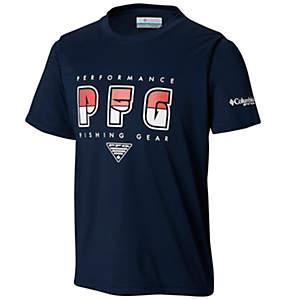 Boys' PFG™Finatic Short Sleeve Shirt