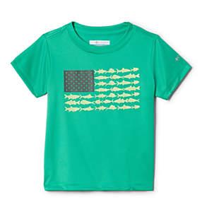 Boys' Toddler PFG™Finatic Short Sleeve Shirt