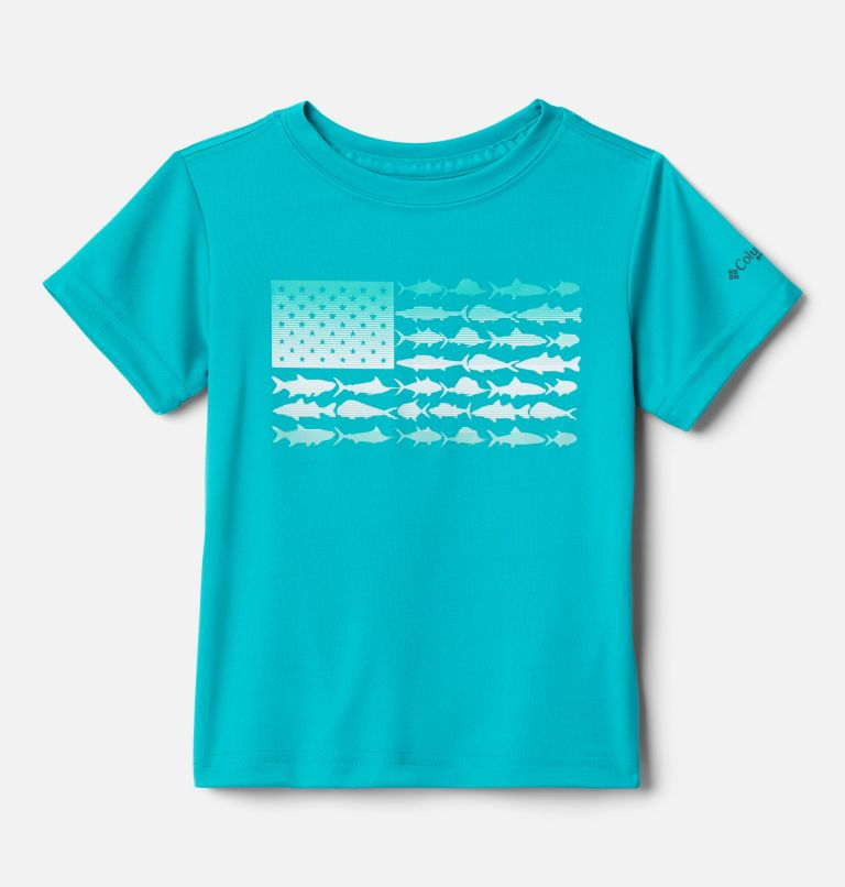 Boys' Toddler PFG™Finatic Short Sleeve Shirt Boys' Toddler PFG™Finatic Short Sleeve Shirt, front