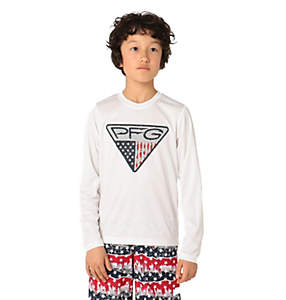 Kids' Terminal Tackle™ Triangle Fill Long Sleeve Shirt