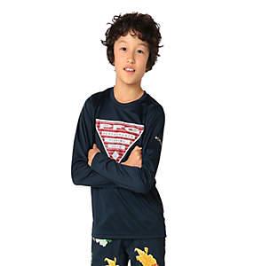 Kids' PFG Terminal Tackle™Triangle Fill Long Sleeve Shirt