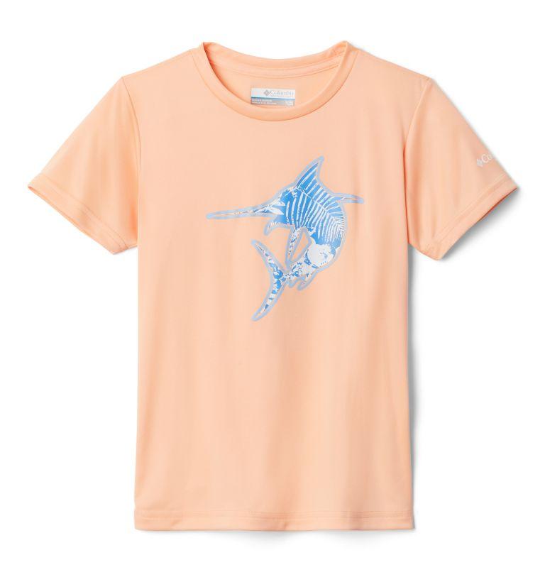 Girls' PFG™Reel Adventure Short Sleeve Shirt Girls' PFG™Reel Adventure Short Sleeve Shirt, front