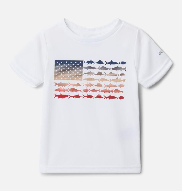 Girls' Toddler PFG™ Reel Adventure Short Sleeve Shirt Girls' Toddler PFG™ Reel Adventure Short Sleeve Shirt, front